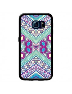 Coque Azteque Lake pour Samsung Galaxy S6 Edge - Maximilian San