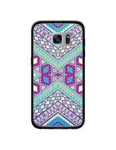 Coque Azteque Lake pour Samsung Galaxy S7 - Maximilian San