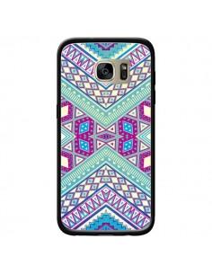 Coque Azteque Lake pour Samsung Galaxy S7 Edge - Maximilian San