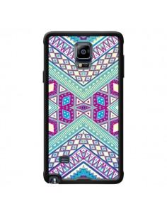 Coque Azteque Lake pour Samsung Galaxy Note 4 - Maximilian San