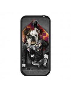 Coque Chien Bad Dog pour Samsung Galaxy S4 Mini - Maximilian San