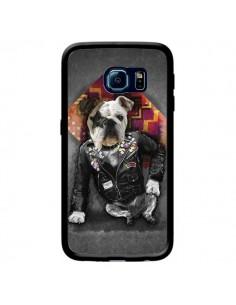 Coque Chien Bad Dog pour Samsung Galaxy S6 Edge - Maximilian San