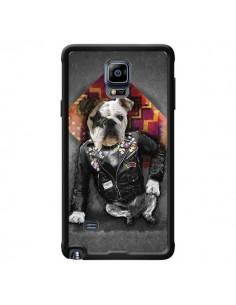 Coque Chien Bad Dog pour Samsung Galaxy Note 4 - Maximilian San