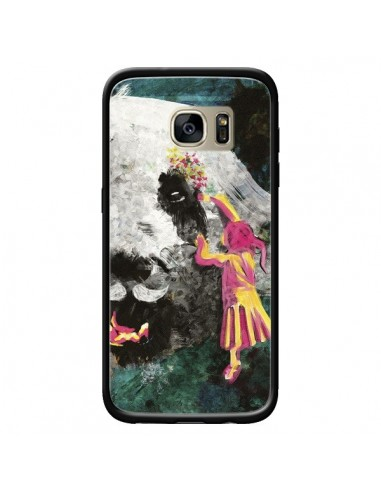 Coque Panda Pandamonium pour Samsung Galaxy S7 Edge - Maximilian San