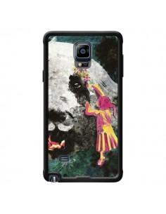 Coque Panda Pandamonium pour Samsung Galaxy Note 4 - Maximilian San