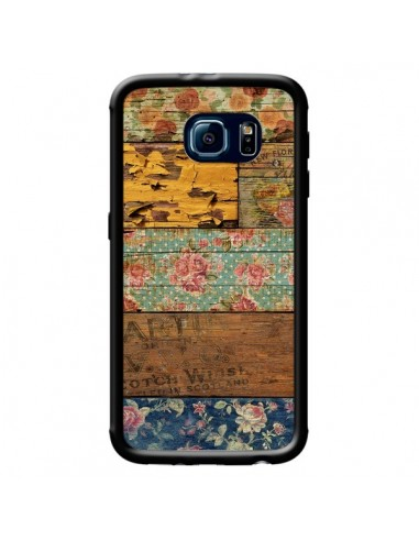 Coque Barocco Style Bois pour Samsung Galaxy S6 - Maximilian San