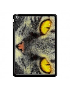 Coque Chat Gato Loco pour iPad Air - Maximilian San