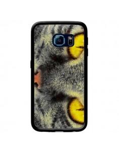 Coque Chat Gato Loco pour Samsung Galaxy S6 Edge - Maximilian San