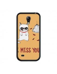 Coque Chat I Miss You pour Samsung Galaxy S4 Mini - Maximilian San