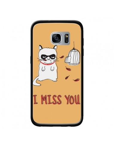 Coque Chat I Miss You pour Samsung...