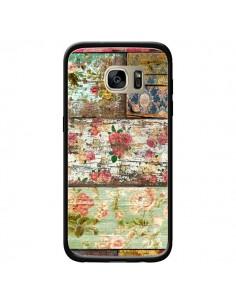 Coque Lady Rococo Bois Fleur pour Samsung Galaxy S7 Edge - Maximilian San