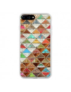Coque Love Pattern Triangle pour iPhone 7 Plus et 8 Plus - Maximilian San
