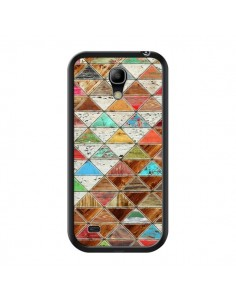 Coque Love Pattern Triangle pour Samsung Galaxy S4 Mini - Maximilian San