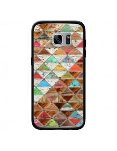 Coque Love Pattern Triangle pour Samsung Galaxy S7 - Maximilian San