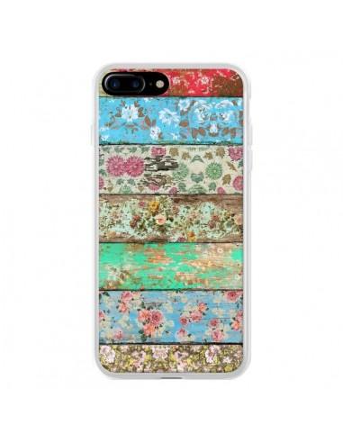 Coque iPhone 7 Plus et 8 Plus Rococo Style Bois Fleur - Maximilian San