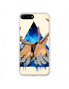 Coque Cerf Triangle Seconde Chance pour iPhone 7 Plus et 8 Plus - Maximilian San