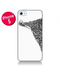 Coque Peacock Paon Robe Femme pour iPhone 5 - Jenny Liz Rome