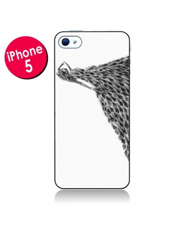 Coque Peacock Paon Robe Femme pour iPhone 5 - Jenny Liz Rome