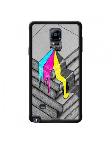 Coque Appareil Photo Bleeding Words pour Samsung Galaxy Note 4 - Maximilian San