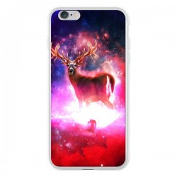 Coque iPhone 6 Plus et 6S Plus Cosmic Deer Cerf Galaxy - Maximilian San