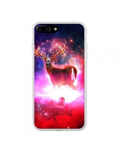 Coque iPhone 7 Plus et 8 Plus Cosmic Deer Cerf Galaxy - Maximilian San