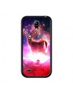 Coque Cosmic Deer Cerf Galaxy pour Samsung Galaxy S4 Mini - Maximilian San