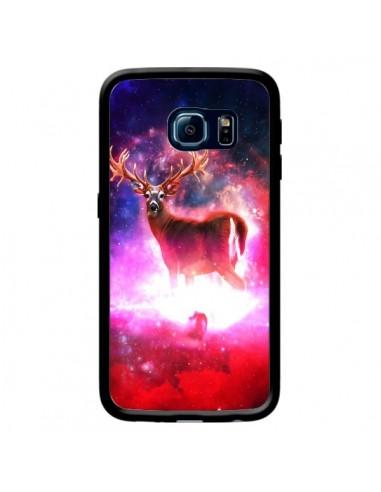 Coque Cosmic Deer Cerf Galaxy pour Samsung Galaxy S6 Edge - Maximilian San