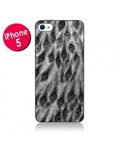 Coque Paon Robe pour iPhone 5 - Jenny Liz Rome
