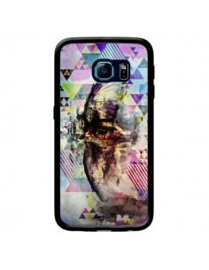 Coque Oeil Triangle Oiseau Cry Bird pour Samsung Galaxy S6 Edge - Maximilian San