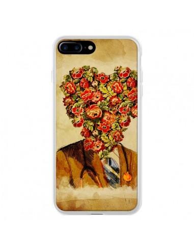 Coque iPhone 7 Plus et 8 Plus Docteur Love Fleurs - Maximilian San