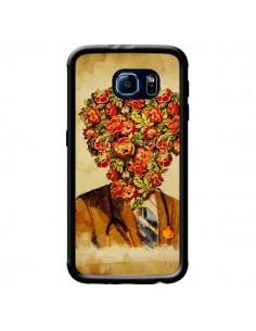Coque Docteur Love Fleurs pour Samsung Galaxy S6 - Maximilian San