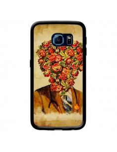 Coque Docteur Love Fleurs pour Samsung Galaxy S6 Edge - Maximilian San