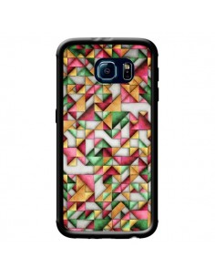 Coque Azteque Triangle Geometric World pour Samsung Galaxy S6 - Maximilian San