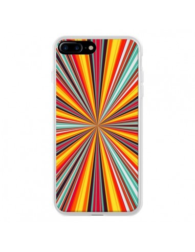 Coque iPhone 7 Plus et 8 Plus Horizon Bandes Multicolores - Maximilian San