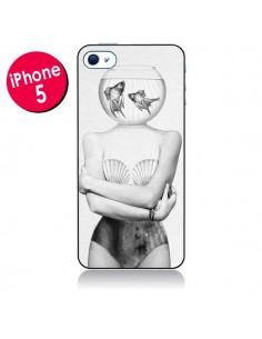 Coque Femme Poissons pour iPhone 5 - Jenny Liz Rome