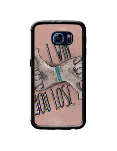 Coque I win You lose pour Samsung Galaxy S6 - Maximilian San