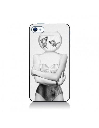 Coque Femme Poissons pour iPhone 4 et 4S - Jenny Liz Rome