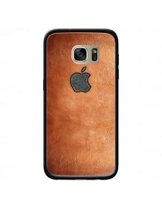Coque Style Cuir pour Samsung Galaxy S7 Edge - Maximilian San