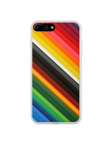 Coque iPhone 7 Plus et 8 Plus Arc en...