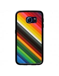 Coque Arc en Ciel Rainbow pour Samsung Galaxy S6 Edge - Maximilian San