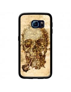 Coque Lord Skull Seigneur Tête de Mort Crane pour Samsung Galaxy S6 Edge - Maximilian San