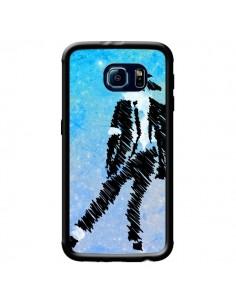 Coque Michael Jackson Chanteur pour Samsung Galaxy S6 - Maximilian San