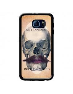 Coque Rock Skull Tête de Mort pour Samsung Galaxy S6 - Maximilian San