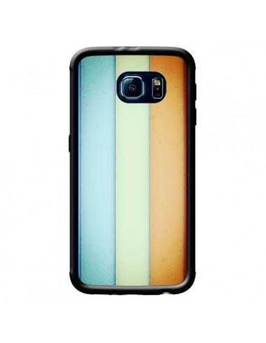 Coque Lignes Verticales Geometric pour Samsung Galaxy S6 - Maximilian San