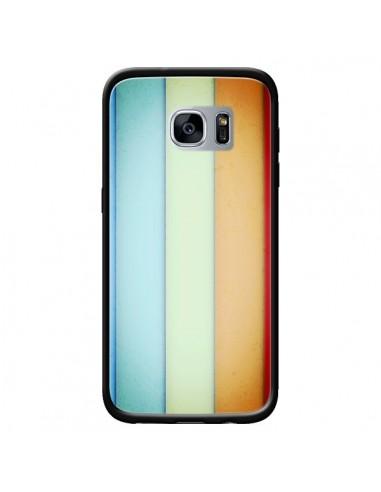 Coque Lignes Verticales Geometric pour Samsung Galaxy S7 - Maximilian San