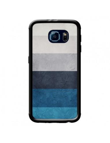Coque Bandes Horizontales Greece Hues pour Samsung Galaxy S6 - Maximilian San