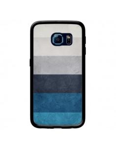 Coque Bandes Horizontales Greece Hues pour Samsung Galaxy S6 Edge - Maximilian San