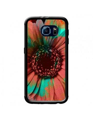 Coque Tournesol Lysergic Flower pour Samsung Galaxy S6 - Maximilian San