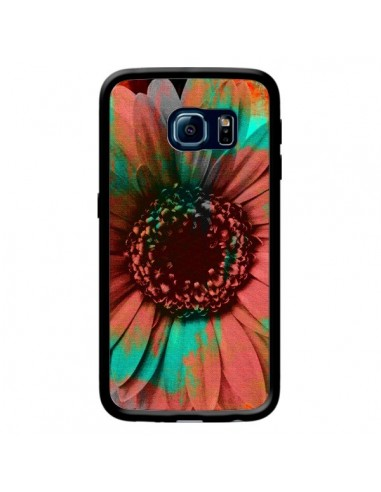 Coque Tournesol Lysergic Flower pour Samsung Galaxy S6 Edge - Maximilian San