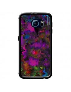 Coque Fleurs Lysergic Lujan pour Samsung Galaxy S6 - Maximilian San